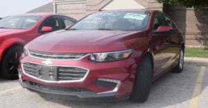 2018 Chevy Malibu for Sale